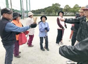 鹿児島市チームを決めるくじ引きも楽しみの一つ