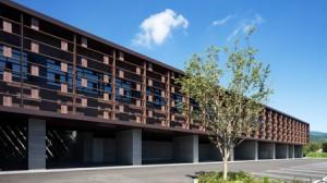 九州建築賞でW受賞した松山さんの「いぬお病院」(提供写真)