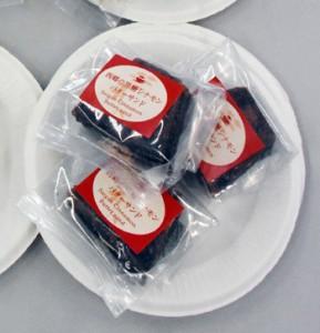 明治維新150年記念特別賞に選ばれた「西郷の黒糖シナモンバターサンド」