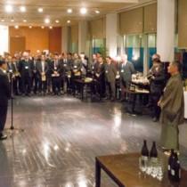 南海日日新聞社東京支社開設50周年祝賀会=16日、東京・時事通信社ビル