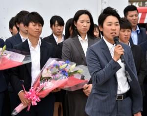 SP 女子プロ野球愛知ディオーネ奄美入り_180427