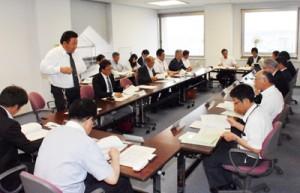 外国人技能実習生の活用に向けて設立された協議会=31日、鹿児島市の県庁