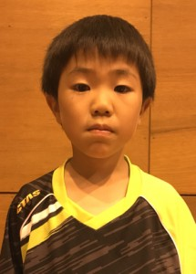 県大会で準優勝し、初の全国大会出場を決めた福永旭(提供写真)