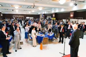 九州各県の飲食業経営者が親睦を深めた鹿児島大会in奄美大島=11日、奄美市名瀬(提供写真
