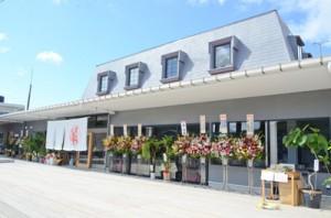 空き店舗を改修しオープンした伝泊+まーぐん広場・赤木名