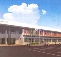 【新庁舎外観イメージ図】