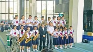県吹奏楽コンクール結果③亀津中180802提供写真