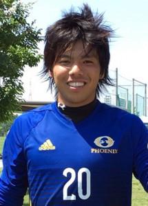 全日本大学サッカートーナメントに出場する伊集院(提供写真)