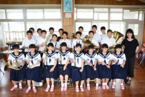 県吹奏楽コンクール結果②龍南中学校180802蘇