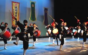 琉球國祭り太鼓公演①180820