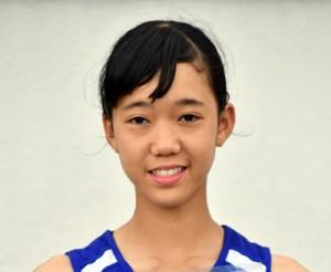 陸上・女子低学年80㍍障害で5位入賞した朝日の渡夢葉