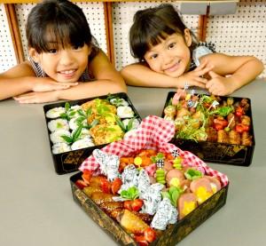 「早く食べたーい!」子どもが喜ぶメニュー8種を詰めたお弁当