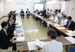 国公有財産の最適利用プランを採択した第3回会合=19日、奄美市役所