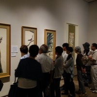 過去最多の8万6千人が来館した佐川美術館の田中一村展=滋賀県守山市(同館提供)