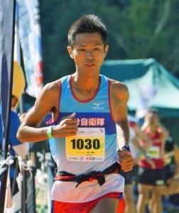 スカイランニング世界選手権に日本代表で出場する永里さん(提供写真)