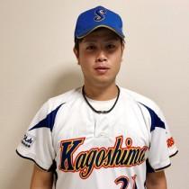国体初出場で好投した大島高校出身の松下投手(写真は本人提供)