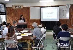 「働き方改革」について学んだ実践講座=9日、奄美市名瀬の県大島支庁