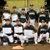 C級優勝のスポーツショップしまかわ40周年=20日、名瀬運動公園多目的広場