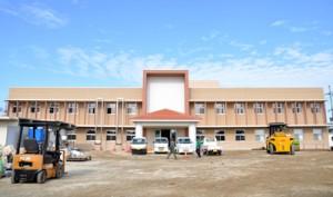 完成した和泊町の新庁舎