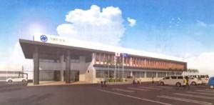 与論町の新庁舎完成イメージ