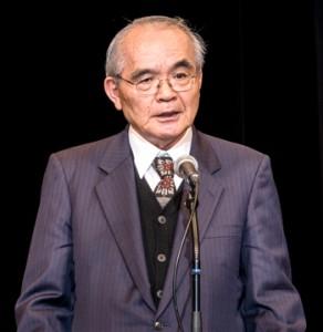 新会長に選出された大江修造さん=2日