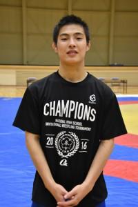 高校九州選手権で上位入賞した小田桐