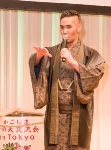 トークショーに出演した中孝介さん