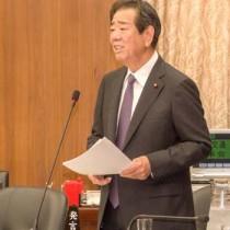 衆院国土交通委員会で質問する金子万寿夫衆院議員