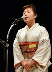 九州地区大会壮年の部優勝の永井さん