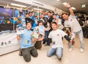 奄美の海と島々の海の楽しみ方を発信したマリンダイビングフェア=7日、東京・池袋