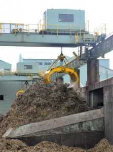 2018―19年期の原料キビの搬入を終えた南西糖業の伊仙工場=3日、伊仙町伊仙