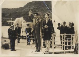 赤塚さんが51年前に撮影した両陛下の写真