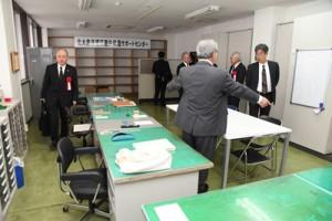 北大島保護区更生保護サポートセンター=15日、奄美市役所第2別館