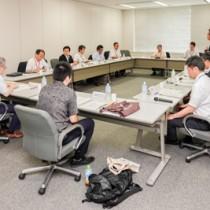国交省で開催された奄美群島成長戦略推進プロジェクト会議の初会合=20日