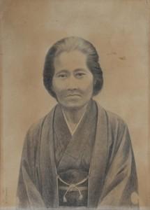 20日から公開される肖像画の一つ(個人所有、写真提供・田中一村記念美術館)