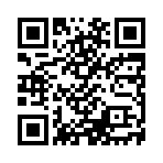 クラウドファンディングのサイトへリンクするQRコード