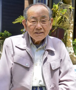 県農業功労者表彰を受けた昇睦朗さん