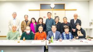 喜界島郷土研究会東京支部が都内で開いた「あまみ懇話会」