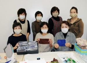 瀬戸内地女連が手作りマスク寄贈200408栄