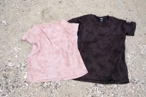 ユニクロと金井工芸がコラボしたTシャツ(提供写真)