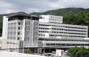 PCR検査機器が導入される予定の県立大島病院