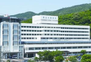 PCR検査機器の導入を予定している県立大島病院=奄美市名瀬
