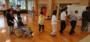 避難訓練なども行われた奄美地区自主防災会の結成式=6月28日、奄美市名瀬(同会提供)