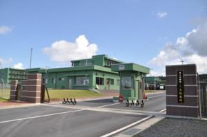 2021年度末に電子戦部隊の新設が予定されている陸自奄美駐屯地=10月1日、奄美市名瀬大熊