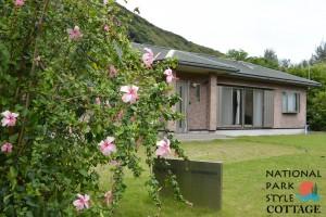 請島に開設されたTARGET HOLDINGSの宿泊施設「National Park Style Cottage」(同社提供)