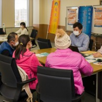 奄美大島への移住に関する熱心な質問が寄せられた相談会 大阪・豊中市