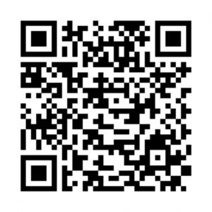 三太郎線実証実験・予約サイトQRコード
