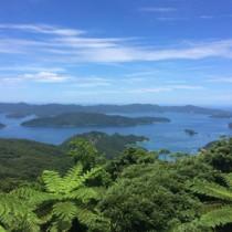 特定離島ふるさとおこし推進事業の対象となっている瀬戸内町の加計呂麻島(奥)